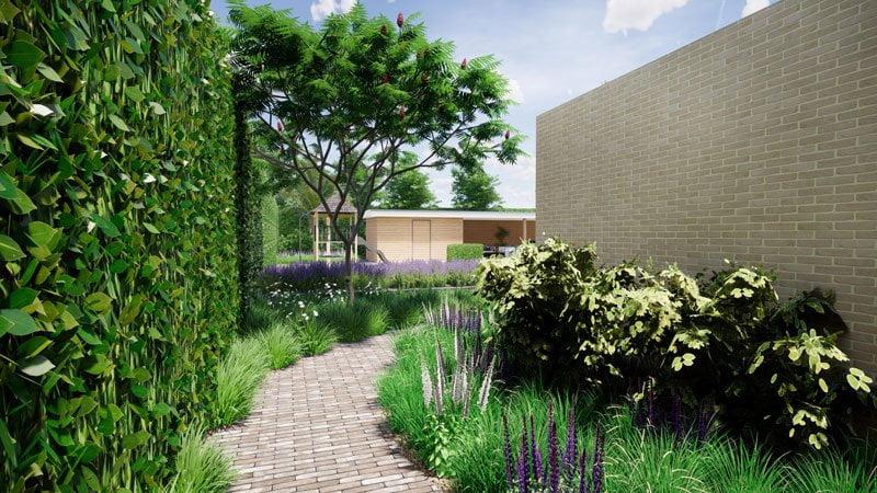 3D tuinontwerp Tilburg