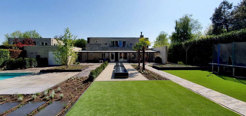 Grote achtertuin renovatie Tilburg