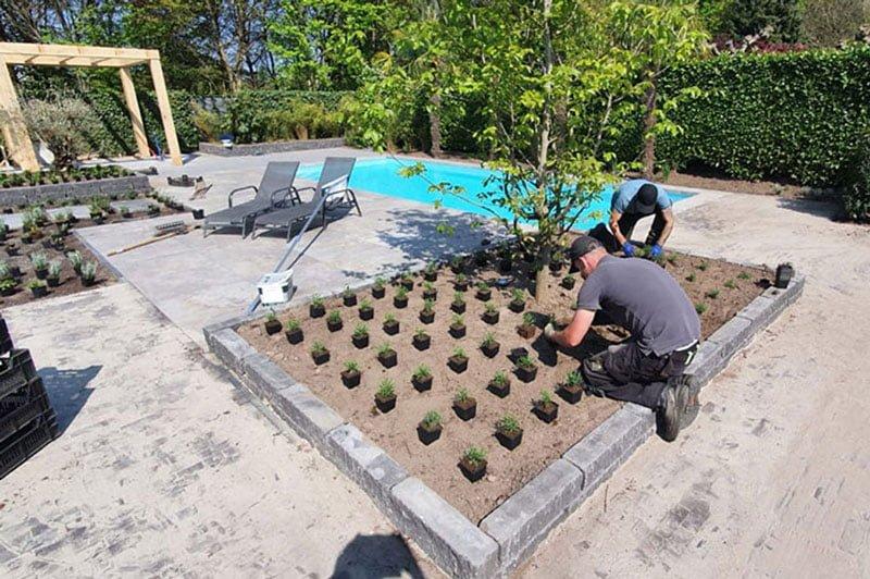 Tuin aanleggen Rosmalen