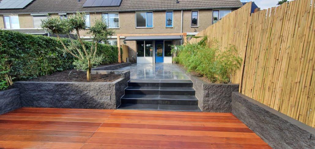 Tuinrenovatie 's-Hertogenbosch in Oosterse stijl