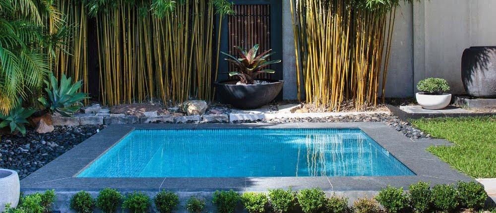 Plunge pool een klein zwembad