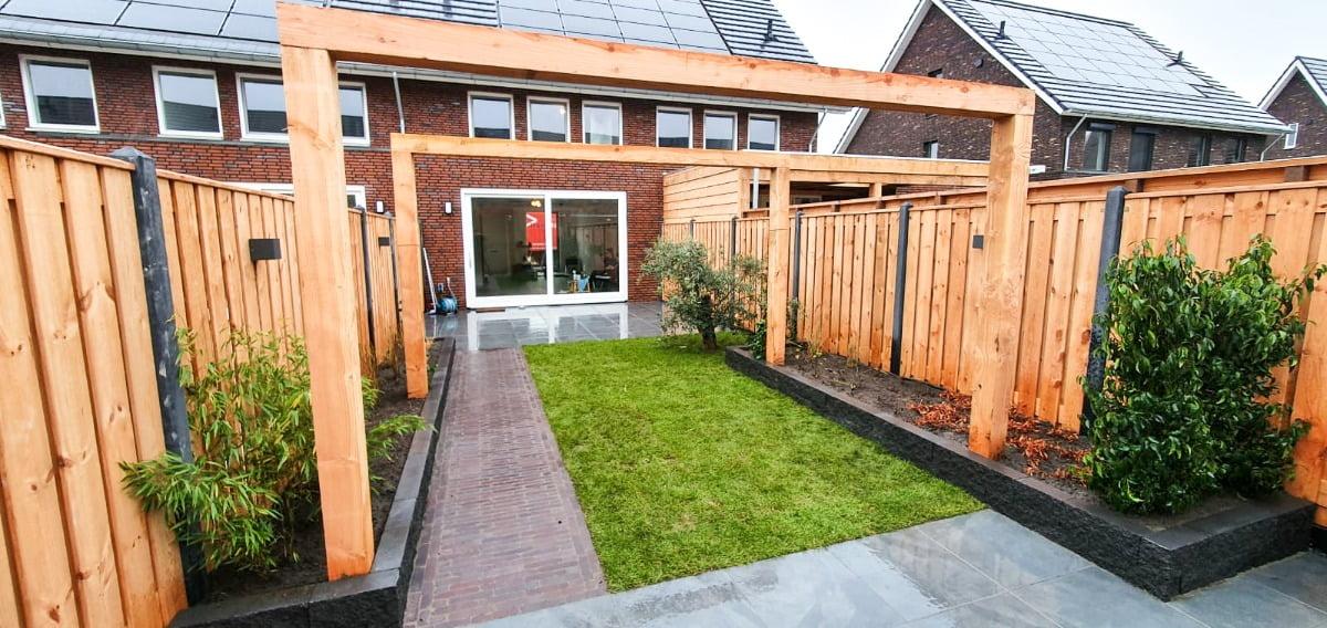 Nieuwbouw tuinaanleg in Rosmalen