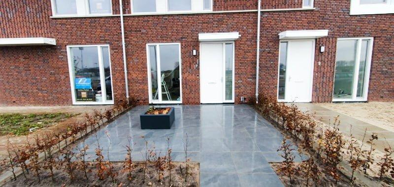 nieuwbouw voortuin aanleggen in Rosmalen
