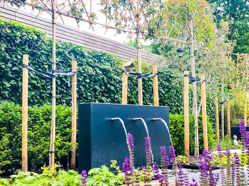 Waterval, leibomen, beplanting